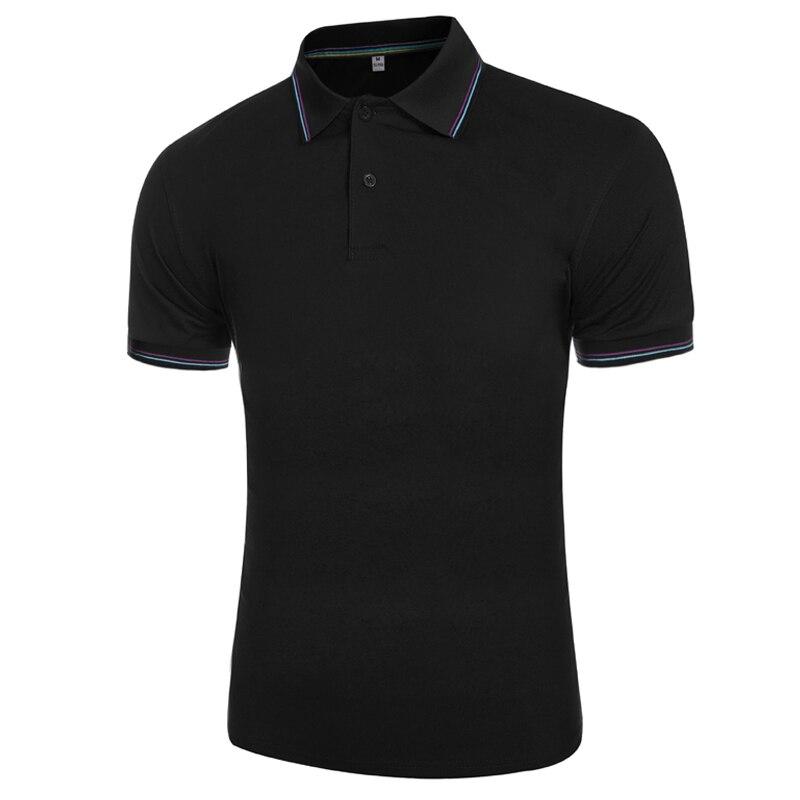 2016 Sommer Neue Ankunft 6 Farben Solide Herren Polo-shirt Marken Business Mode Polos Männer Slim Fit Polo Homme