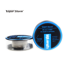 9 Feet Vapor Storm Ni80 RDA Wire 2/3/4 Core Fused Clapton High Density Heating Wire RDA RDTA Rebuildable Atomizer DIY Coil Wire