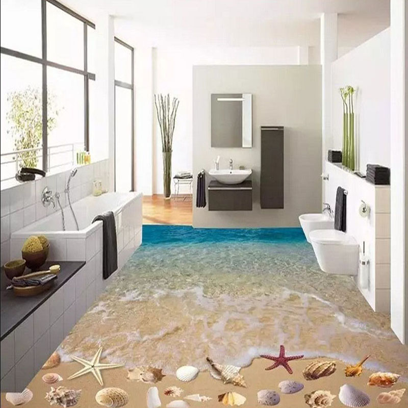 60x60cm 3D Beach Shell Bathroom Floor Tiles 3D Art Decoration Tile Toilet/ Bathroom/Bedroom Floor/Wall Tiles On Aliexpress.com | Alibaba Group