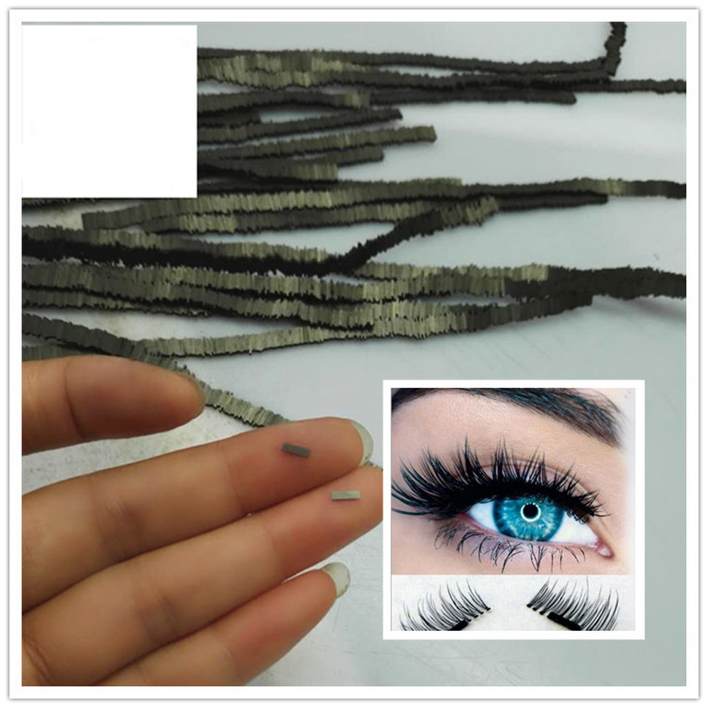 OutTop NEW 10Pcs Reusable Magnet Sheet For 3D Magnetic False Eyelashes Extension Handmade H30422