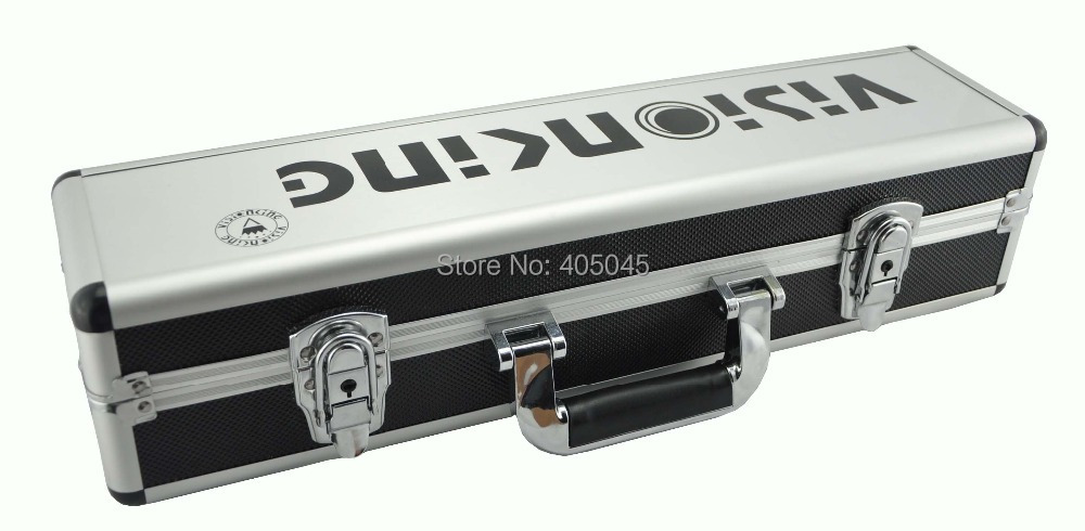 Visionking High Quality Aluminum Hard Carry Case for Rifle Scope Equipment Box Large Capacity Riflescope Suitcase Scope Boxes 1pc white or green polishing paste wax polishing compounds for high lustre finishing on steels hard metals durale quality