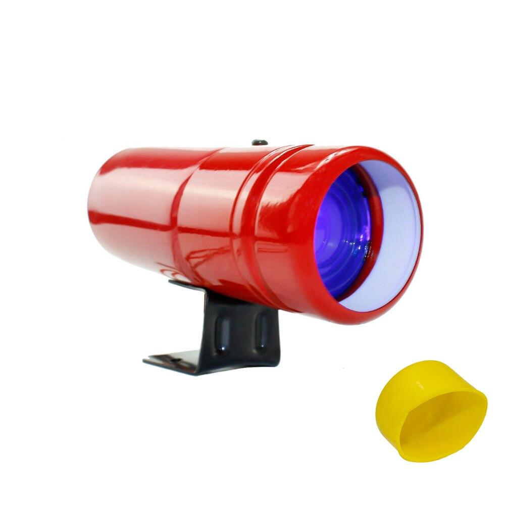 Авто 1000-11000RPM Тахометр переключения светильник Красная Лампа Регулируемый Автомобильный Тахометр метр Предупреждение с желтым датчик YC100137 - Цвет: Red and Blue light