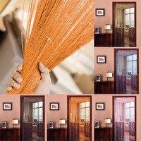 Taos الأربعاء أيا الأزياء لامعة سلسلة خط شرابة مقسم نافذة الباب الستار الديكور للمنزل حفل زفاف 2.95x2.9 متر