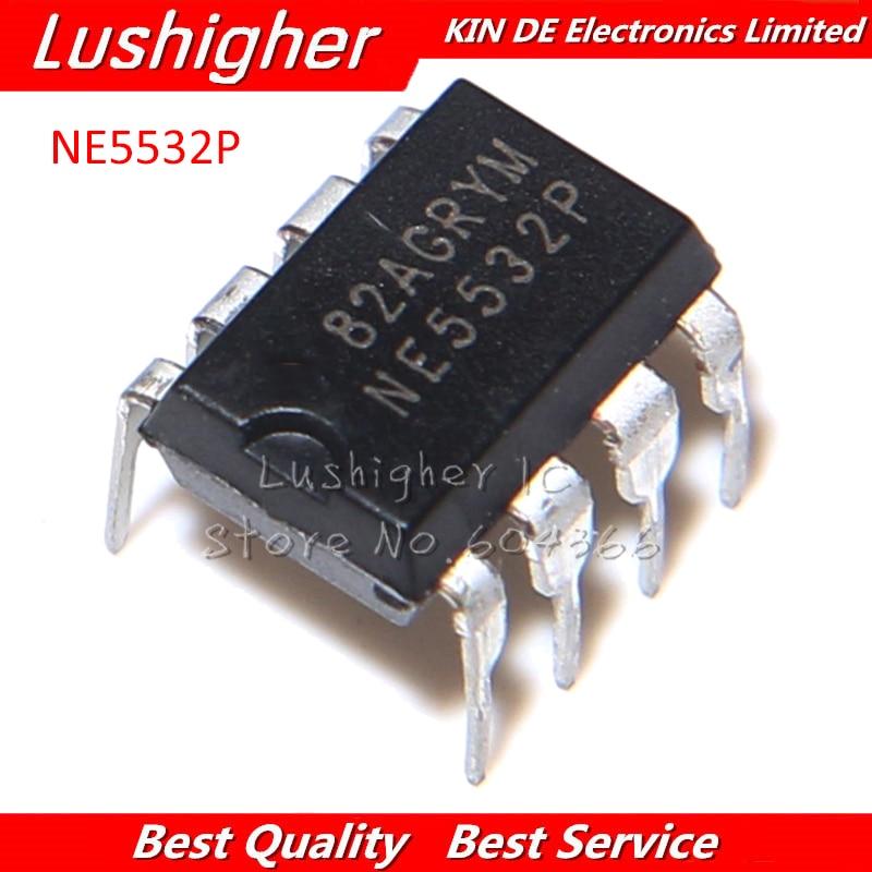 10Pcs NE5532P NE5532 DIP-8 Dual Low Noise Op XL