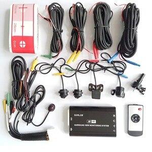 Image 3 - SZDALOS המקורי Newst HD 3D 360 מבט היקפי מערכת נהיגה תמיכה מבט ציפור פנורמה מערכת 4 רכב מצלמה 1080P DVR G חיישן