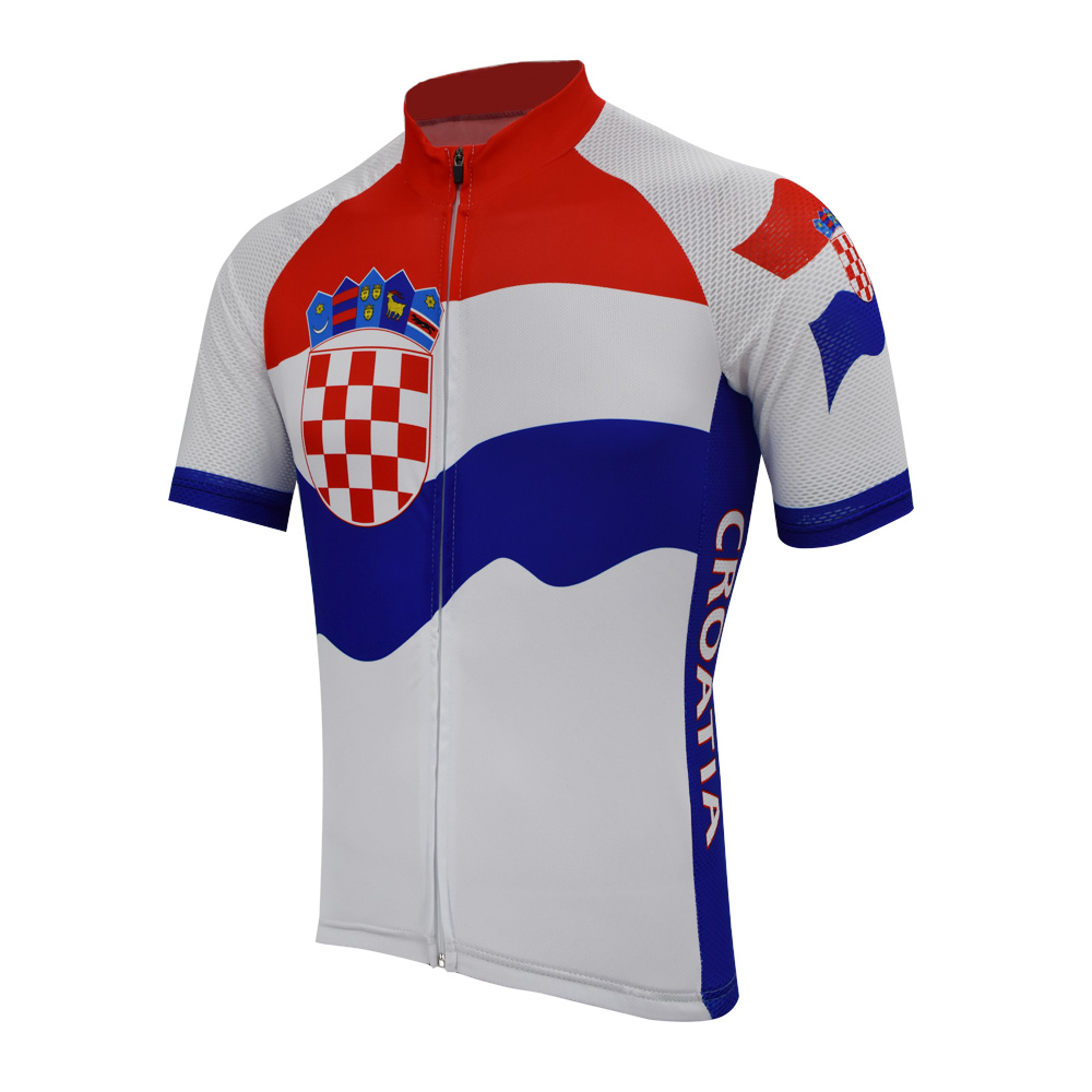 Croatia cycling jersey pro bike classic clothing blue red white cycling  wear racing bicycle clothes cycling clothing braetan 72ec83410