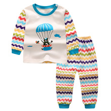 The newest Cartoon adorable Boys Clothes cotton Baby's Sets P1616-2299