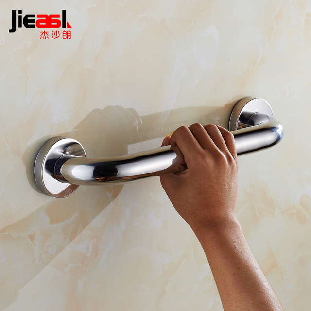 304 Stainless Steel Handrail Bathroom Grab Bar Bathroom Accessorie Set Safety  Bars Handles Bathroom Grab Bars