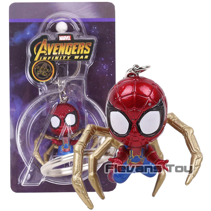 Iron Spider Mini Figure Spider-man Marvel Block UK Seller.