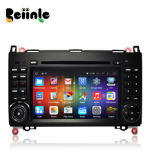 Beiinle Car 2 Din Android QUAD CORE 1024*600 DVD GPS Radio Stereo Navigator for Benz W169 B-class W245 Viano/Vito Sprinter