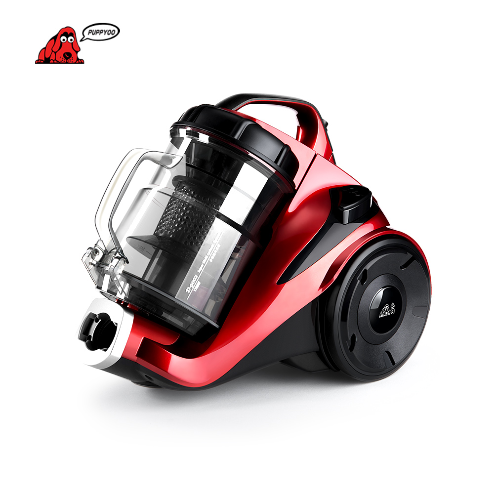 PUPPYOO Cleaner Low Noise Mites-killing Vacuum Cleaner For Home Vacuum Cleaner Powerful Suction Dust Collector D-9002