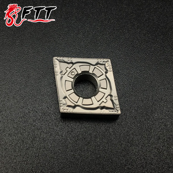 10PCS CNMG120404 FG CT3000 Cermet Grade carbide inserts lathe cutter tools External turning tools CNC tools Turning Tool