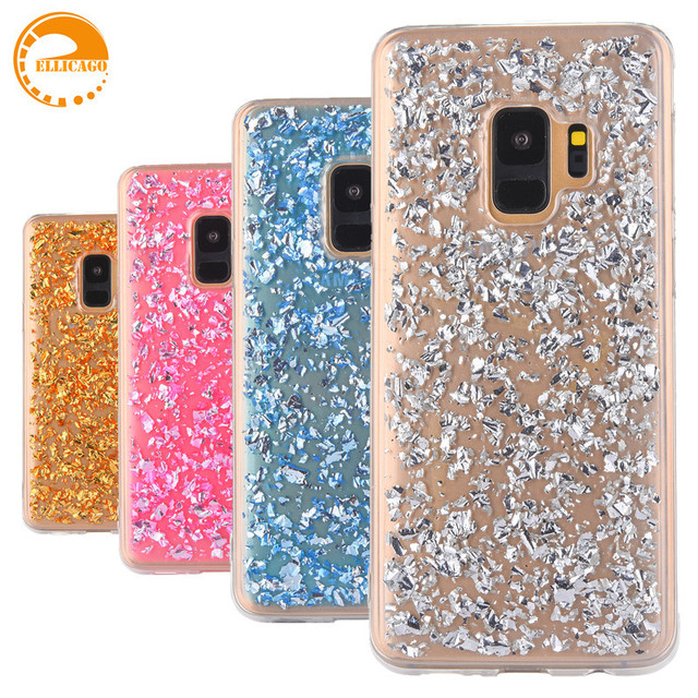 finest selection 8043e a028a US $3.64 |Rose Gold Foil Bling Paillette Sequin Cover For coque Samsung  Galaxy S9 Case For Samsung Galaxy S9 Plus Clear Soft TPU Fundas-in Fitted  ...