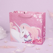 Large Gift Box Creative Unicorn Gift Bags with Handes Baby Shower/mothday Day/Birthday/wedding Gift Decor Party Favors Package