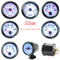 free shipping !!!!  52mm boost gauge water temp oil temp gauge oil press gauge volts meter tachometer RPM gauge car meter