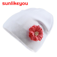 цены Sunlikeyou 2019 Spring New Unisex Newborn Baby Boy Girl Kids Hat Flower Cotton Soft Toddler Beanie Hats Cap Hat For 0-6 Months