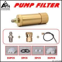 4500 ps แรงดันสูง PCP ปั๊มมือ air filter Oil   น้ำแยกกับท่อหญิงและชาย connector pcp ถังอากาศ M10 * 1 ชุด