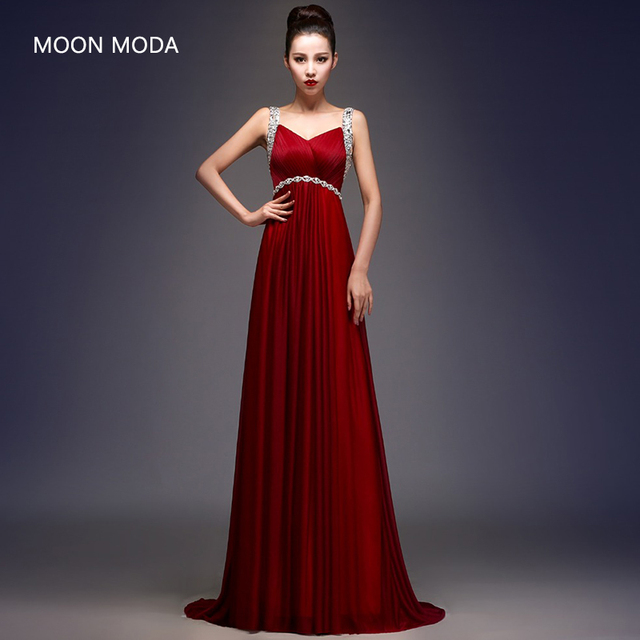 Mujeres con vestidos de noche