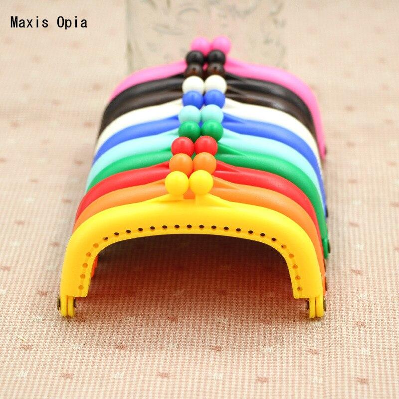 8.5 cm Candy Plastic Bag Purse Frame Sewing Purse Hanger Parts For Handbags China Online shop Resin Purse Frame Obag Handle