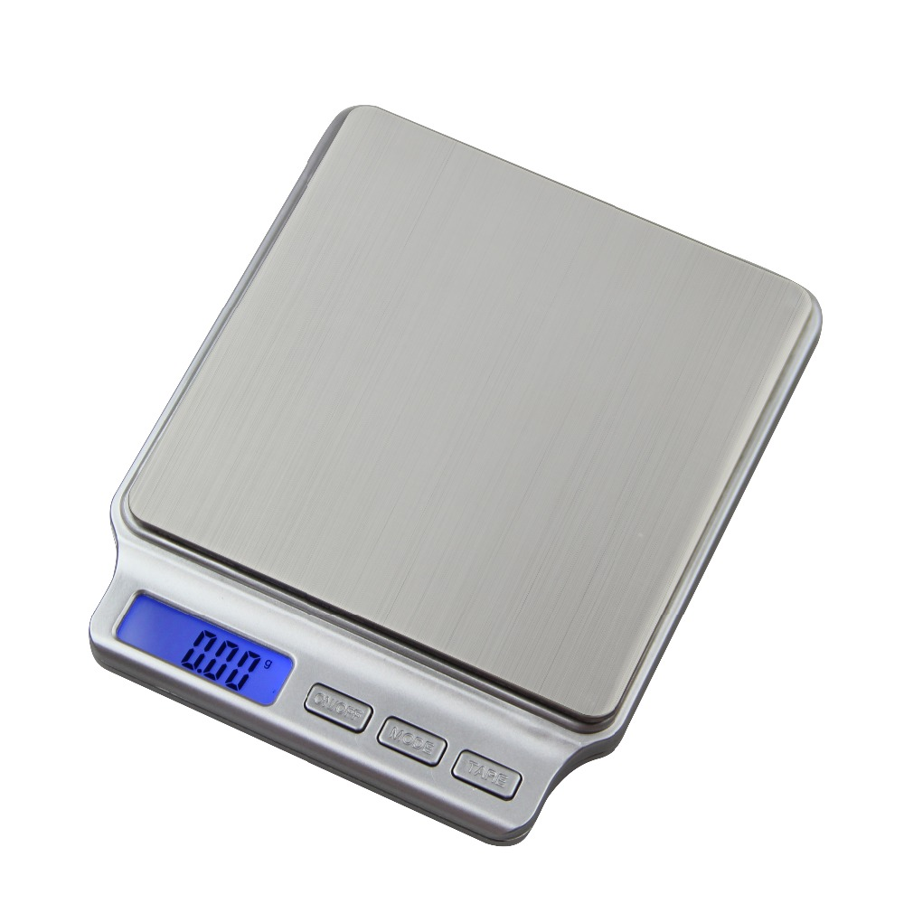 500g0 01g digital scale portable weight jewelry food tea pocket electronic kitchen scales high precision balance with 2 trays