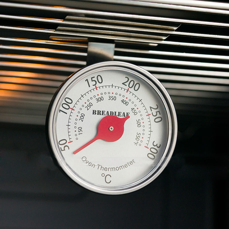 Kitchen Stainless Steel Oven Thermometer Cooking termometer Can Hang the Grill Adjustable Height Angle Food Thermometer
