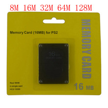 8 16 32 64 128 MB tarjeta de memoria para Sony PS2 con caja de venta al por menor
