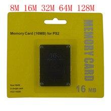 8 16 32 64 128 メガバイトのメモリカードソニー用 PS2 とリテールボックス