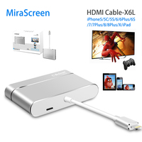 White Light To AV HDMI HDTV TV Digital Cable Adapter For IPhone 8 8plus For IPhone