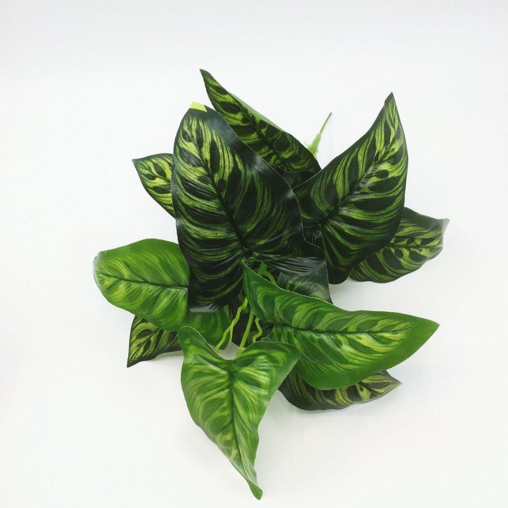 2017 Yapay Yeşil turp Bonsai Ağacı Satılık Çiçek Dekor - Tatiller ve Partiler Için - Fotoğraf 6