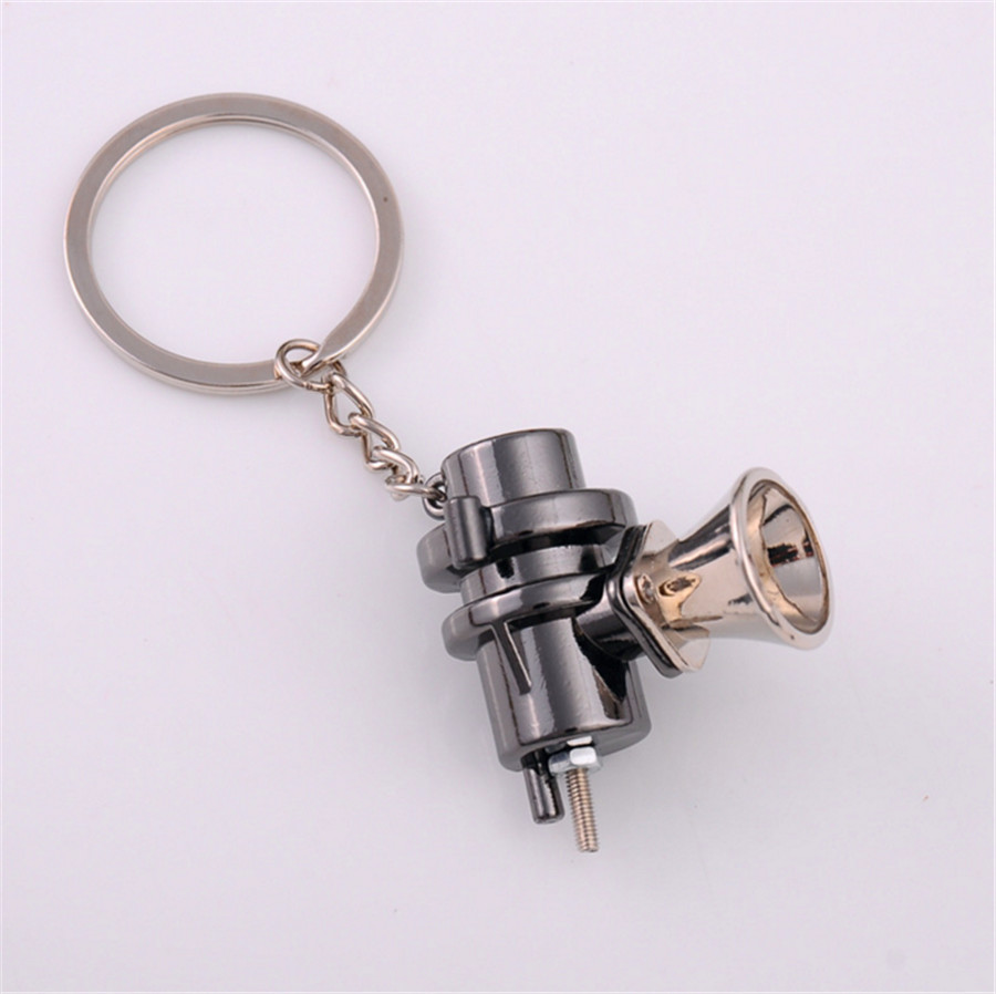 METAL MINI TURBO TURBINE CHARGER BLOW OFF VALVE KEYCHAIN KEY CHAIN RING KEYFOB KEYRING FOR CAR TRUCK SUV BOV STYLE KEYCHAIN RING in Key Rings from Automobiles Motorcycles