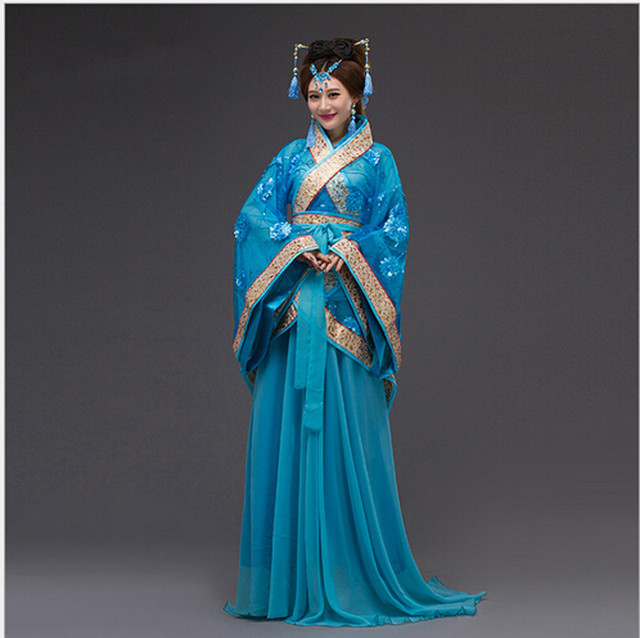 53106877c Traditional Chinese Beautiful Dance Hanfu Dress Chinese Dynasty Costume  Ancient Chinese Tang Costume Hanfu Women's Hanfu