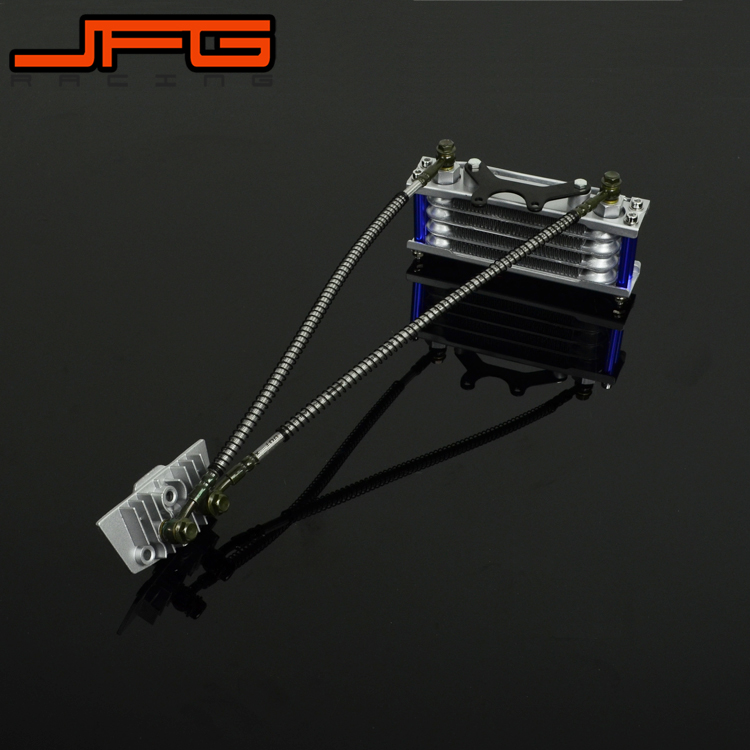 Motorcycle oil Cooling Radiator For pit Dirt Bike ATV Quad 50 70 90 110CC Pitpro Pitster Pro SDG DHZ SSR Piranha plastic kit fender for honda crf50 xr50 70 crf 50 xr 50 sdg ssr pro 50cc 110c 125cc dirt pit bike fit for kayo kr110