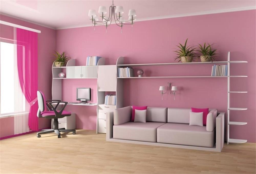 study background sofa children backdrops curtain studio laeacco photographic chandelier customized interior