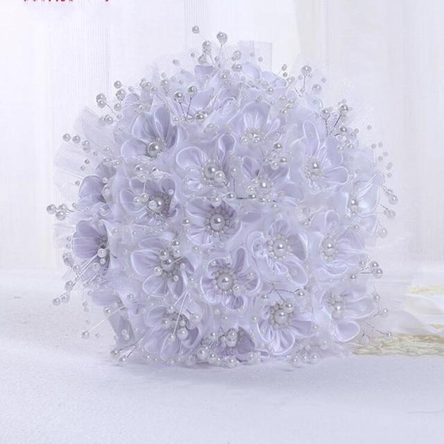 Букет Де Mariage Bruidsboeket Искусственный Свадебный Букет Невесты Букет Свадебные Цветы Свадебные Букеты 2017 На Складе