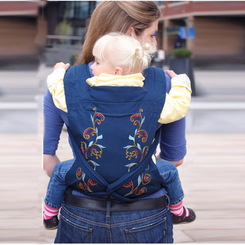 Ergonomic Baby Carrier For 0-3 Y Infant Last Style Minizone Fashion Pattern Design Baby Sling High Quality 4 Designs Baby Carrier