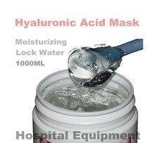 1KG Hyaluronic Acid Moisturizing Mask 1000g Whitening Lock Water Repair  Disposable Sleeping Cosmetics Beauty Salon Products