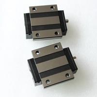2pcs Original Taiwan PMI MSA25E N MSA25ESSFC N linear guideway slide block Carriage for CO2 laser machine CNC router MSA25E
