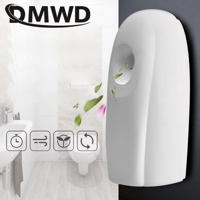 DMWD Air Purifier Essential Freshener Home Hotel Toilet Automatic Regular Perfume Sprayer Aerosol Fragrance Dispenser Diffuser цены