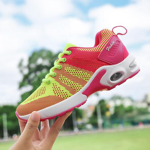 DAESPHETEL Sport Running Shoes Outdoor Breathable Comfortable Couple Women
