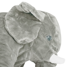 52*26*17CM Soft Baby Animal Elephant Pillow Children Sleeping Cushion Room Baby Bed Pillows Decoration Kids Doll Baby Seat Plush