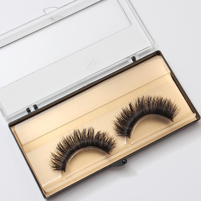 1 Pair 3D False Eyelashes For Female Makeup Tips Handmade Eyelashes Thick Long Fake Eye Lashes Extension Tools Cilios Beauty