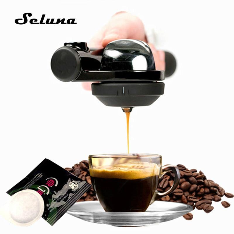 Mini Coffee Capsule Maker Bag Manual Pressurization Portable Coffee Espresso Illy Coffee Pod Outdoor Coffee Machine
