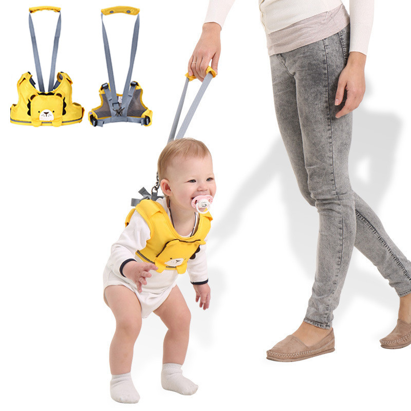 Cute Cartoon Kids Boys Girls Walking Assistant Portable Toddle Baby Harness Leashes Ergonomics Children Safety Belt Walk Wing