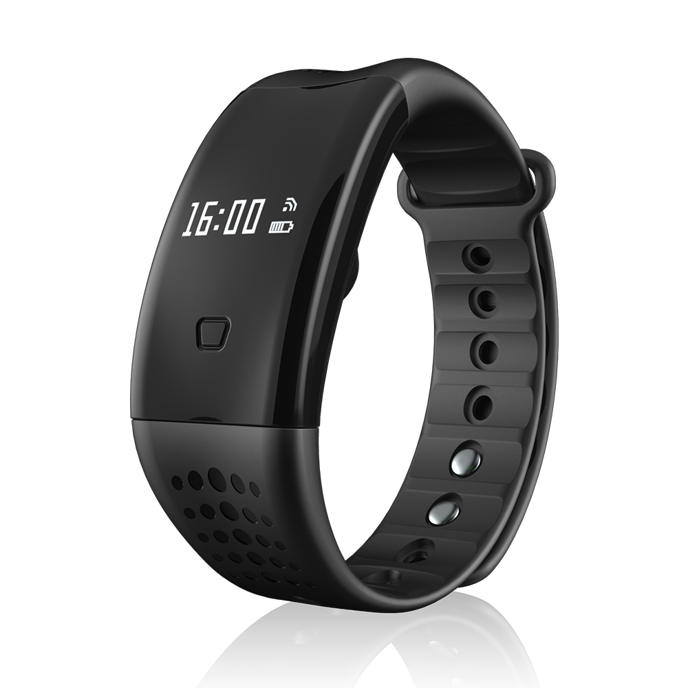 Blood Pressure Monitor Smart Wristband Pulse OLED Heart Rate Monitor Watch Men Waterproof for mi 8