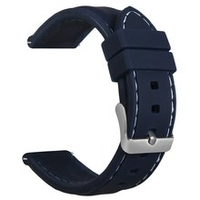 Soft Silicone Watch Band for Samsung Gear S3 22MM Replacement Wrist Sport Strap Rubber Band
