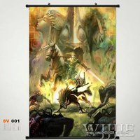 Home Decor Japan Wall poster Scroll Link The Legend of Zelda