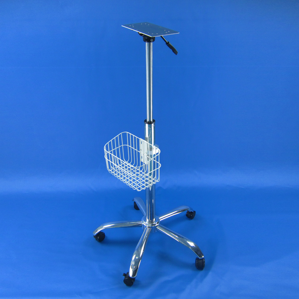 medical monitor stand stainless steel medical trolley недорго, оригинальная цена