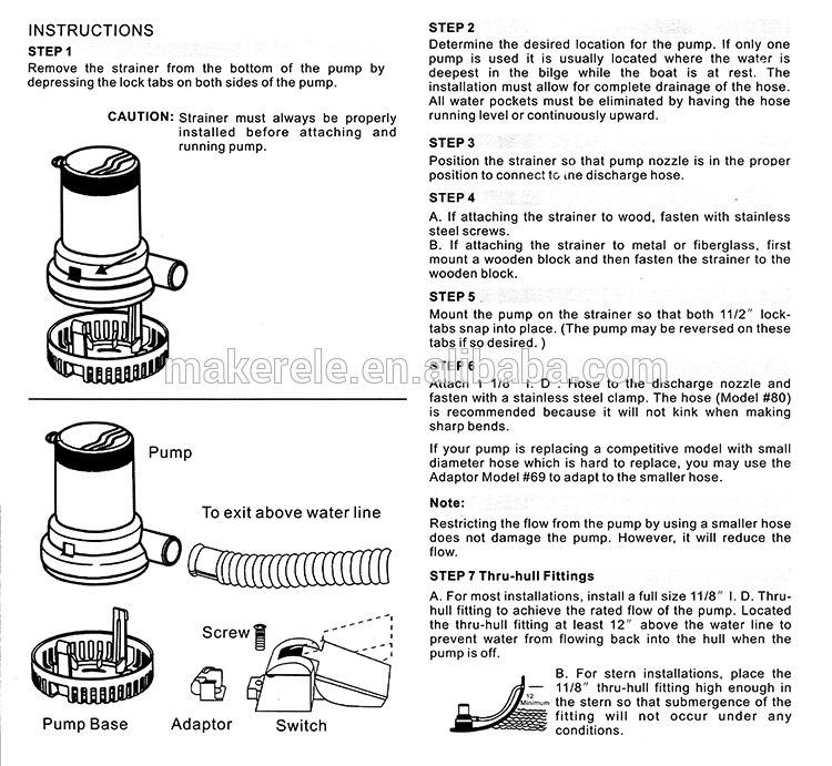 Rule 500 Bilge Pump Wiring Diagram Wiring Diagram – Rule-mate 750 Wiring Diagram