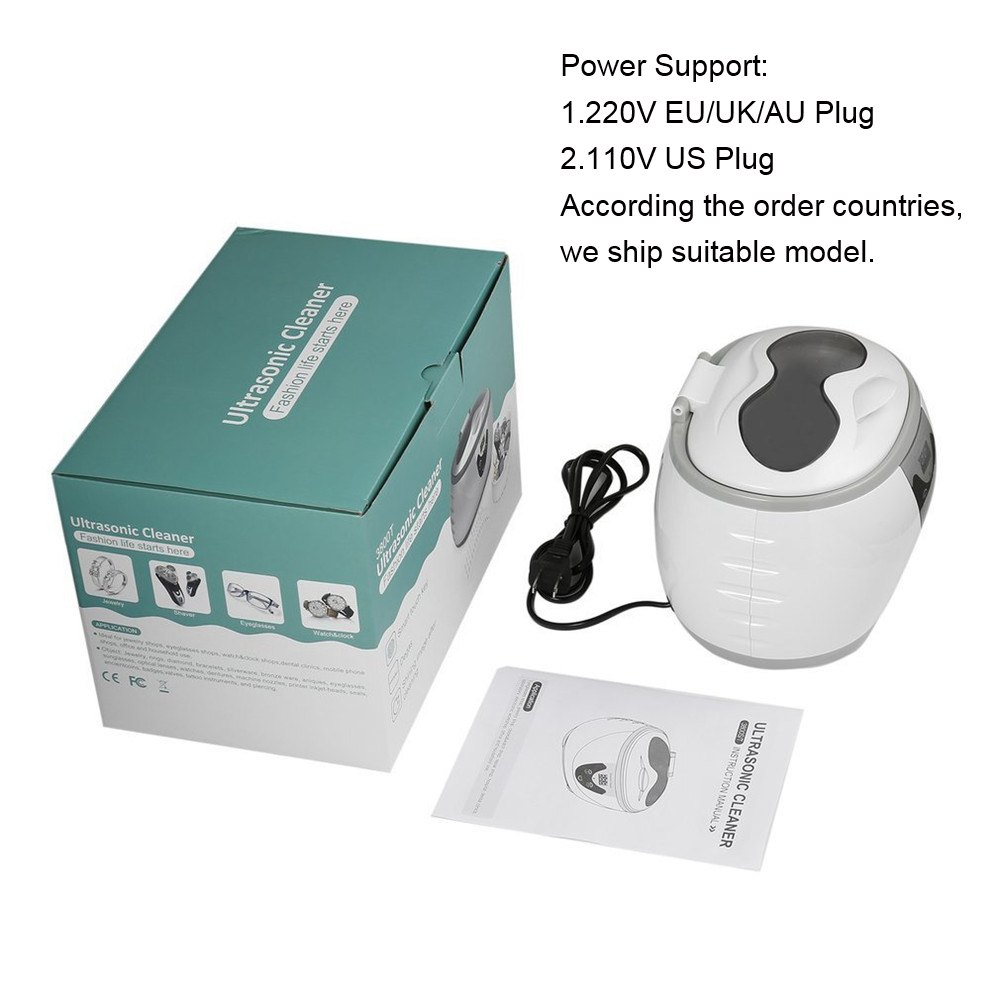 Ultrasonic Cleaner Machine With 5 Period Timing Control And LED Digital Display