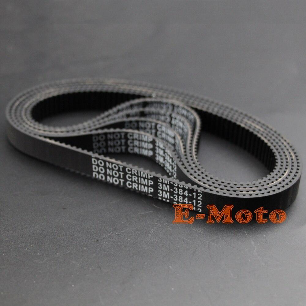 5 шт. 384-3M-12 импульсный электрический ремень привода скутера зарядное устройство революции CITY Череп 384 3 м 12 новых E-Moto